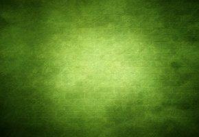 Обои текстура, зеленый, стена, кирпич, свечение, темные тона