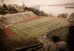 Обои Stadium High School, Tacoma, Washington, soccer, стадион, футбол, Такома