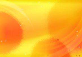 Обои Фон, желтый, пятна, вектор, минимализм