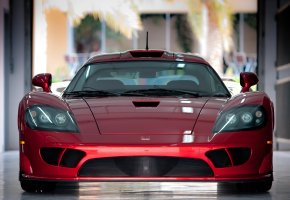 ���� saleen s7, red, super car, ����� �7, �������, �������, ��������