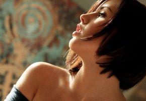 Обои актриса, модель, профиль, фото, Brooke lee adams