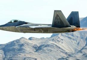 Обои F-22, Raptor, многоцелевой, истребитель