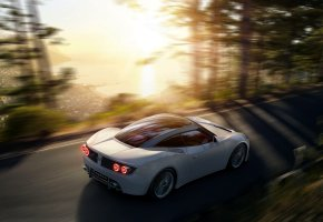 Обои Spyker, B6, Ventator, машина, спорткар, скорость