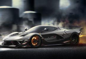 Обои Ferrari, Race, Supercar, Wheels, Tuning, феррари, диски, скорость