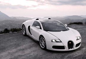 Обои авто, фары, капот, bugatti, спорткар, veyron