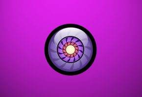 Обои минимализм, сфера, шар, круги, фон