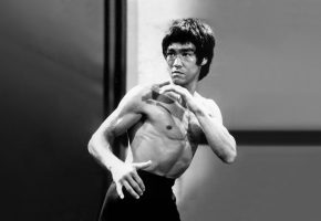 Обои брюс ли, bruce lee, выход дракона, enter the dragon