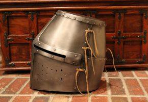 Обои шлем, средневековье, доспехи, металл