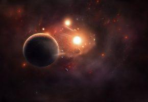Обои звезды, stars, space, Планеты, астероиды
