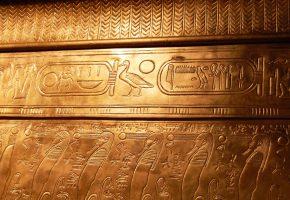 Обои Тутанхамон, египет, иероглифы, гробница