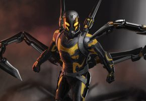 Обои Человек-муравей, Ant-Man, комикс, фантастика, костюм, marvel, арт
