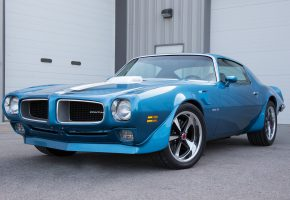 Обои pontiac, Trans Am, 1970, blue, Понтиак, синий