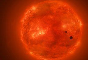 Обои космос, Солнце, планеты