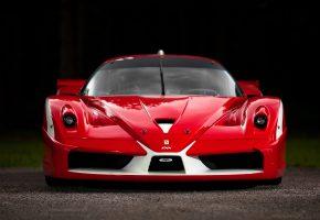Обои Феррари, красный, Ferrari FX, передок