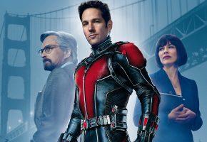 Обои Человек-муравей, Ant-Man, комикс, фантастика, постер, фон, мост