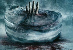Обои Рука, дьявол, лед, кровь, холод