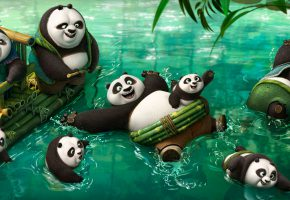 Обои Kung Fu Panda 3, Panda, Movie, Pictures, панда, кунг фу
