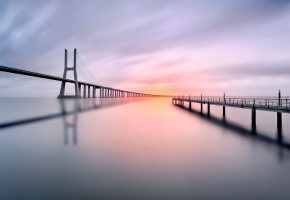 ���� ����, sky, ����, river, ����, bridge, ����, water, Portugal, ����������, ����