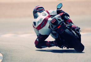 Обои спорт, мотоцикл, гонщик, гонка, мото, асфальт, motogp, honda