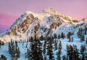 Обои сша, штат вашингтон, северная америка, гора, шуксан