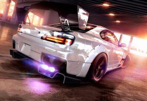 Обои silvia, speed, tuning, Nissan, ниссан, скорость