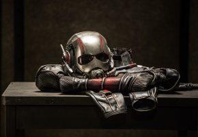 Обои Ant-man, Человек-муравей, Марвел, шлем, костюм