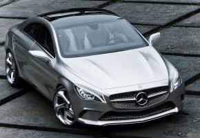 Обои mercedes, мерседес, benz, style, coupe, авто, концепт, металлик