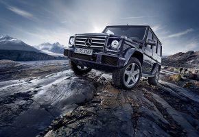 Обои Mercedes-Benz, G-Class, Gelandewagen, мерседес бенц, джип
