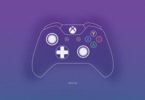 Обои джойстик, Gamepad, XboxOne, Console, фон