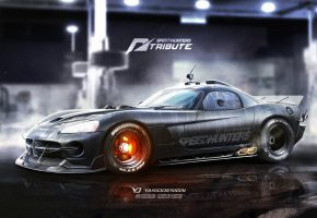 Обои Додж, Speedhunters, Dodge, Viper, спорткар