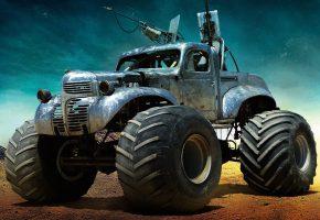 Обои Mad Max, Fury Road, Безумный Макс, Дорога ярости