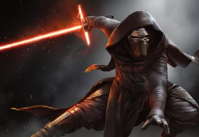 Обои Звёздные войны, Пробуждение силы, Star Wars, меч, джедай