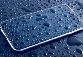 Обои телефон, сматрфон, вода, капли, Apple, iPhone 6s