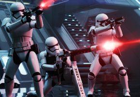 Обои Star Wars, Звёздные Войны, Эпизод VII, Пробуждение Силы, сражение, огонь