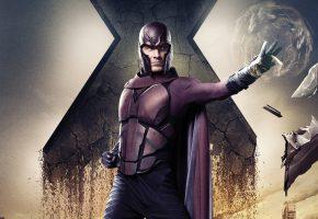 Обои Люди Икс, Дни минувшего будущего, X-Men, Days of Future Past, Майкл Фассбендер, Michael Fassbender, Erik Lehnsherr, Magneto
