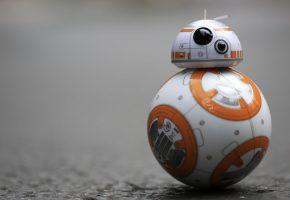 Обои робот, robot, Звездные Войны, Star Wars, BB-8