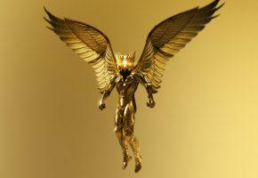 Обои Боги Египта, Gods of Egypt, бог, Египет, крылья, золото