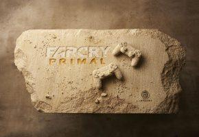 Обои Far Cry, Primal, Sony, PS4, Камень, джойстик