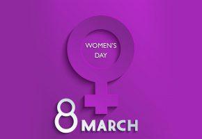 Обои женский день, 8 марта, 8, март, праздник, фон