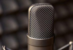 Обои metal, microphone, macro, микрофон, метал, макро