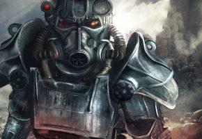 Обои Fallout-4, арт. игра, фантастика, десант