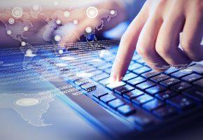 Обои information, technologies, fingers, keyboard, клавиатура, цифры, информация, руки