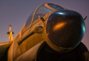Обои A-7, Corsair, Air, самолет, нос, кабина