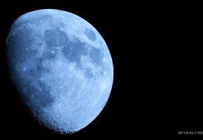 Обои луна, космос, пейзаж