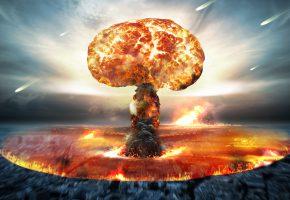 Обои nuclear bomb, energy, destruction, взрыв, разрушение, волна, апокалипсис