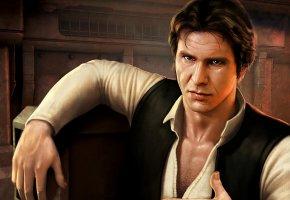 Обои Star Wars, Han Solo, Хан Соло, арт