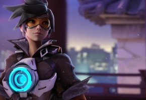 ���� Overwatch, Tracer, Blizzard, Lena Oxton