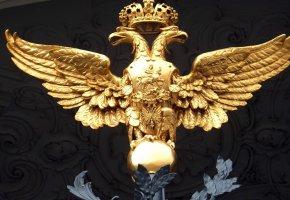 Обои Россия, герб, русские, орел