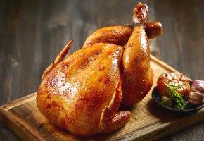 Обои курица, мясо, жареный, корочка