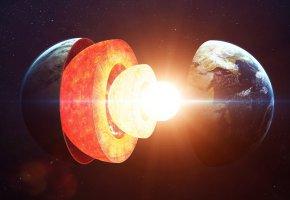 Обои планета, земля, Мантия, ядро, кора, лава